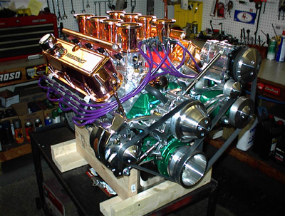 mustang performance engine